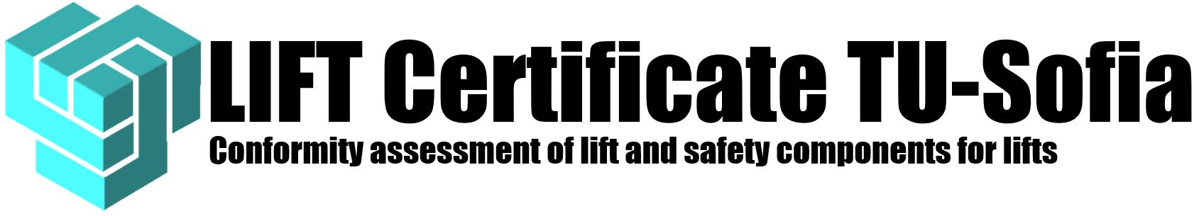 LIFT Certificate TU-Sofia